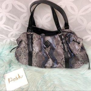 Simply Vera by Vera Wang Faux Snake Skin Handbag